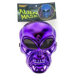 PURPLE ALIEN John Fasano-Designed Plastic Mask