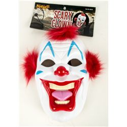 SCARY CLOWN John Fasano-Designed Plastic Mask