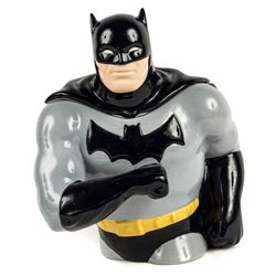 BATMAN DARK KIGHT Hand-Painted Ceramic Cookie Jar