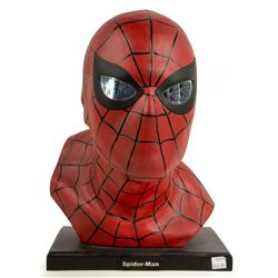 AMAZING SPIDER-MAN Marvel Mike Hill & Alex Ross Resin Bust Signed by Mike Hill