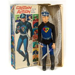 CAPTAIN ACTION Original 1966 Figure by Ideal