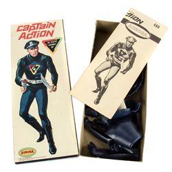 CAPTAIN ACTION Original 1966 Model Kit by Aurora