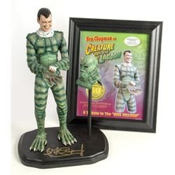 "CREATURE FROM THE BLACK LAGOON ""Suiting Up"" Tribute Maquette by John Gilbert"