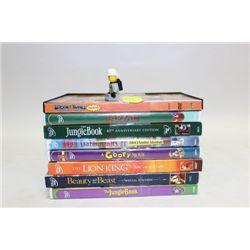 BUNDLE OF 8 DISNEY DVD MOVIES