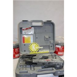 SENCO STRIP FEED SCREW GUN WITH 2 PAILS, IN CASE