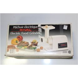 RIVAL ELECTRIC FOOD GRINDER