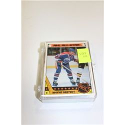 CASE OF WAYNE GRETZKY CARDS