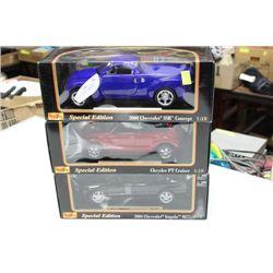 DIE CAST CAR 1:18 SCALE X3