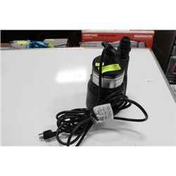 MASTERCRAFT SUBMERSIBLE UTILITY PUMP
