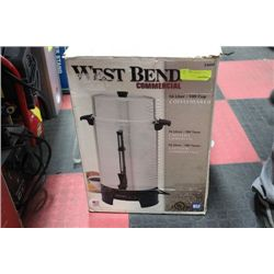 WESTBEND 16 LITRE 100 CUP COMMERCIAL COFFEE MAKER