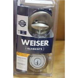 WEISER SINGLE CYLINDER DEADBOLT