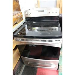 GE PROFILE 5 BURNER CERAMIC TOP CONVECTION OVEN