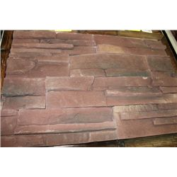 LPD-02:CULTURED STACKED STONE - FLAT