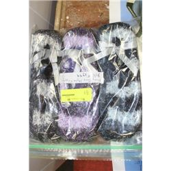 PK OF 3 MARY JANE STYLE SLIPPERS