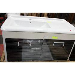 FLOATING BATHROOM VANITY W SINK ON CHOICE: BJS1002