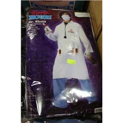 DR. SHOTS ADULT COSTUME ON CHOICE