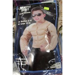 MUSCLE SHIRT BOY'S HALLOWEEN COSTUME ON CHOICE