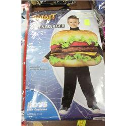 CHEESEBURGER KIDS HALLOWEEN COSTUME ON CHOICE