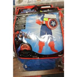 CAPTAIN AMERICA KIDS HALLOWEEN COSTUME ON CHOICE