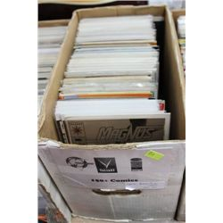 BOX OF 150+ COMICS  ON CHOICE:ASST.