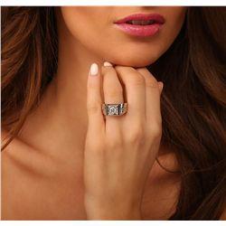 14KT White Gold 1.47ctw Diamond Ring