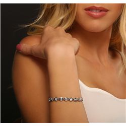 14KT White Gold 3.00ctw Diamond Tennis Bracelet