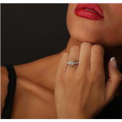 18KT White Gold EGL Certified 1.91ctw Diamond Ring