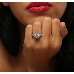 14KT White Gold 2.16ctw Diamond Ring