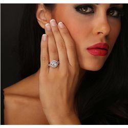 18KT White Gold 2.52ctw Diamond Ring
