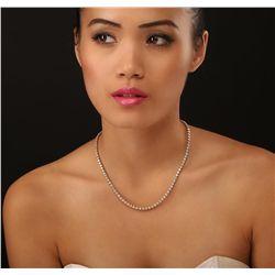 14KT Yellow Gold 8.35ctw Diamond Necklace