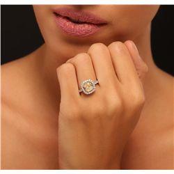 18KT White Gold 2.61ctw Diamond Ring