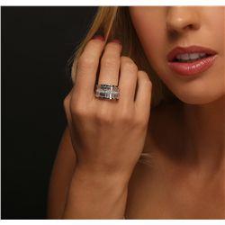 18KT White Gold 2.37ctw Diamond Ring