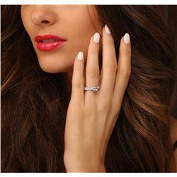14KT White Gold 3.25ctw Diamond Ring