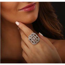 18KT White Gold 2.57ctw Diamond Ring
