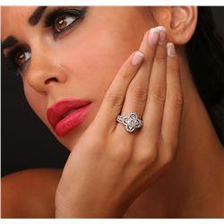 18KT White Gold 2.34ctw Diamond Ring
