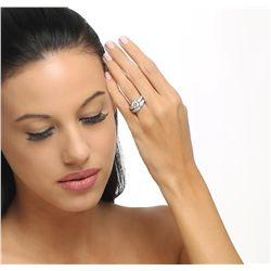 Platinum 2.95ctw Diamond Ring