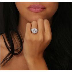 18KT White Gold 2.41ctw Diamond Ring
