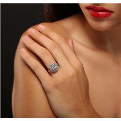 14KT White Gold 1.83ct Diamond Ring