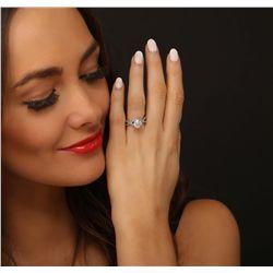 14KT White Gold 2.37ctw Diamond Ring