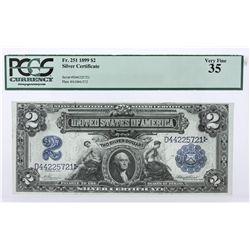 1889 $2 Silver Certificate