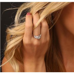 Platinum 3.00ctw Diamond Ring
