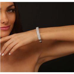 14KT White Gold 5.10ctw Diamond Bracelet