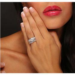 18KT White Gold 5.20ctw Diamond Ring