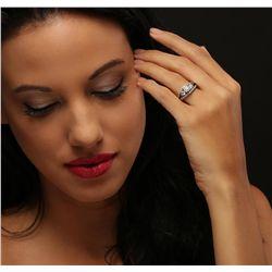 14KT White Gold 1.98ctw Diamond Ring