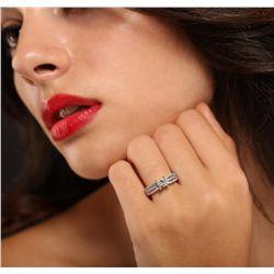 14KT White Gold 1.25ctw Diamond Ring