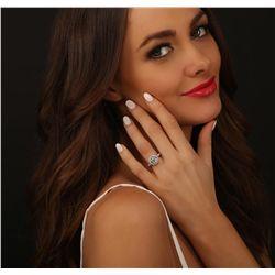 18KT White Gold 2.65ctw Diamond Ring