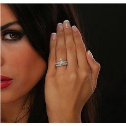18KT White Gold 1.80ctw Diamond Ring