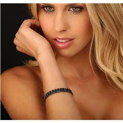 18KT Black Gold 8.00ctw Diamond Bracelet