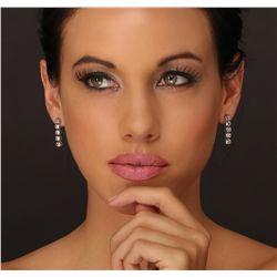 18KT White Gold 2.20ctw Diamond Earrings