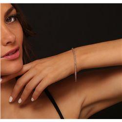 14KT Rose Gold 2.72ctw Diamond Bracelet